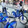 """纽约启动全美最大自行车计划打造""""绿色之都"""""""