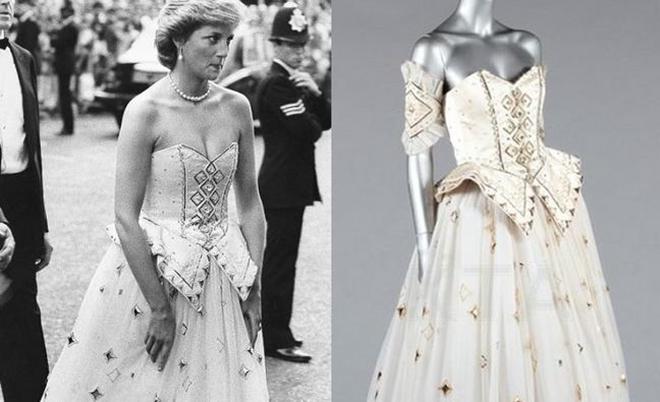 戴安娜王妃最爱礼服将拍卖 估价80万元