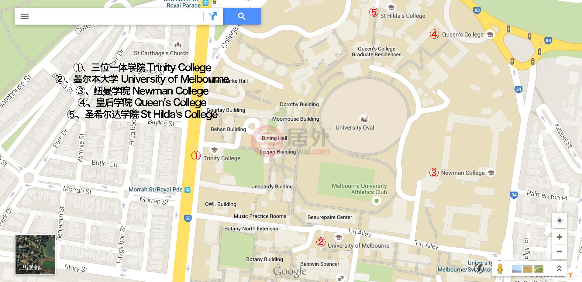 > 澳洲留学指南   周边学校:圣索菲亚学院,圣安得烈学院,悉尼大学