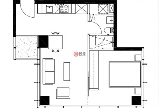 室内平面设计图,规划巧妙大气