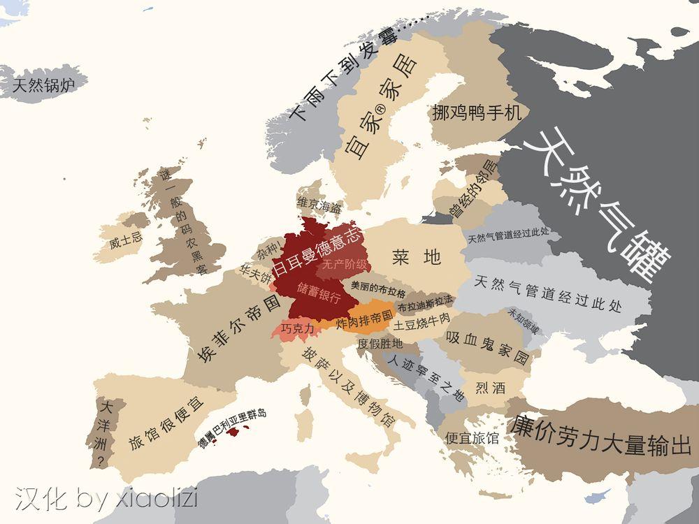 德国眼中的欧洲(中文版)
