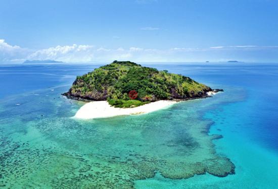 """斐济""""人间仙境""""Yadua岛,著名度假胜地的独特投资机会"""