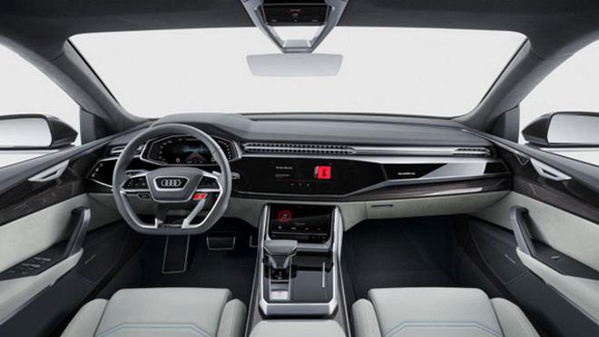 奥迪全新Q8概念车正式亮相北美车展
