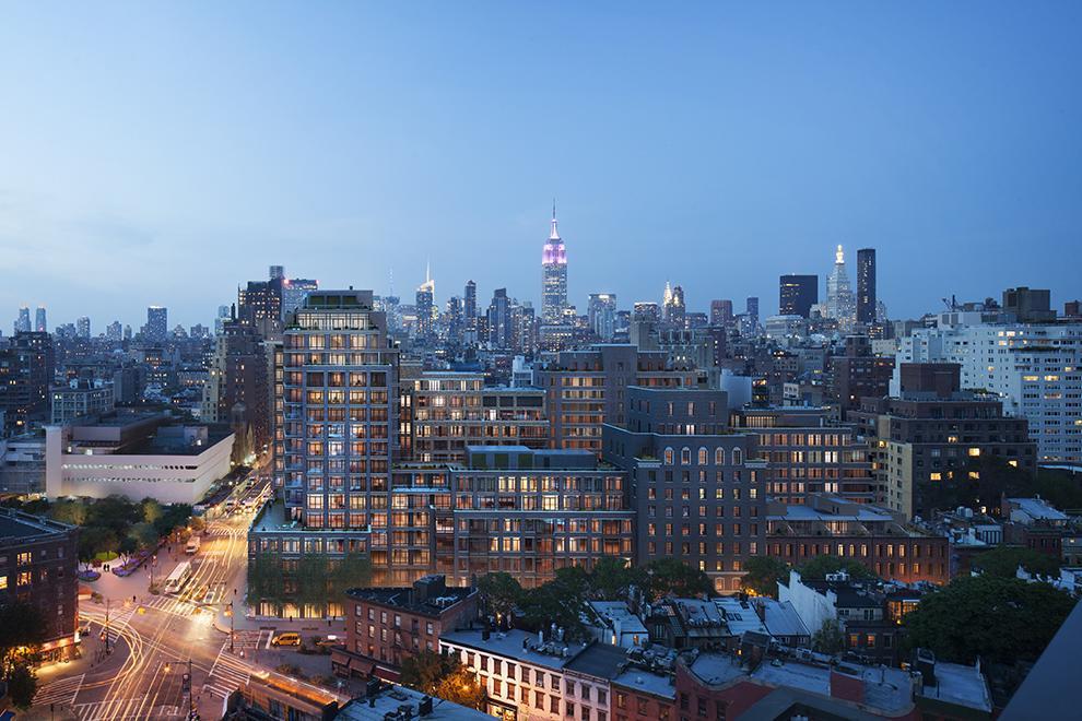 9?11之后,曼哈顿渐渐蜕变成为一个集商业、住宅、生活为一体的时尚新城区