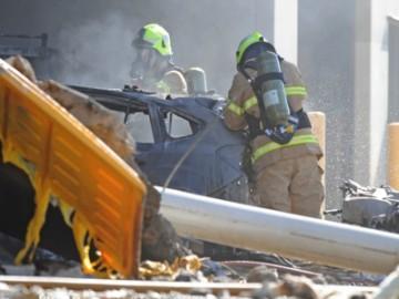 澳飞机撞击商场 疑似因为发动机故障导致-热点