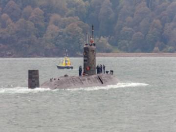 英核潜艇老旧不堪 此前与美国船只发生碰撞-热点