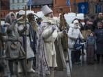 俄罗斯欢度谢肉节 当地举行隆重的迎春送冬仪式-热点