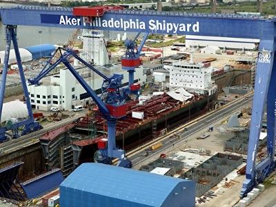 靠EB-5资金兴建的费城阿克尔造船厂