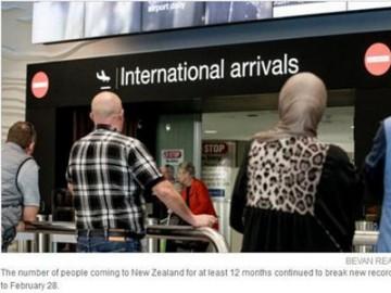 新西兰魅力大 统计数据显示移民和游客人数创新高 | 新西兰