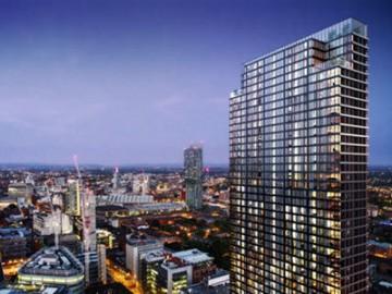 Tower at St. John's Place:市中心全新生活社区,打造豪华空中住宅 | 英国