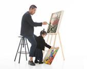 当代艺术家韦加:把情绪放进油彩,描于纸上