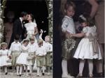 凯特王妃妹妹大婚 小王子小公主担任花童-热点
