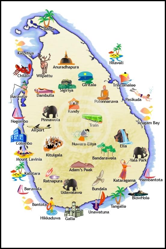 """斯里兰卡被称为""""印度半岛的一滴眼泪"""""""