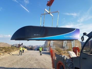 超级高铁全面测试 高速推进舱数分钟到达终点-热点