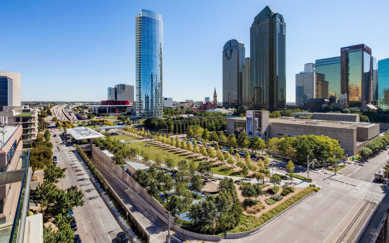 西雅圖丶波特蘭和達拉斯的房價在 20 個城市中,年增率漲幅最大。圖為達拉斯。