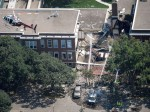 美国一所学校爆炸 所幸发生在暑假假期时间-热点
