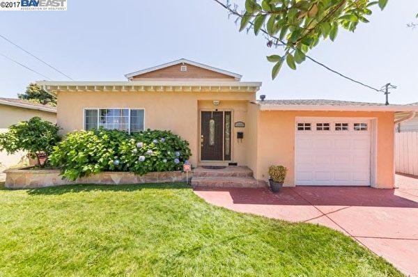 这处Hayward的房子,从1981年至今涨了26倍。(Paragon)