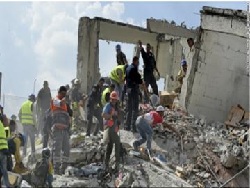 墨西哥7.1级地震  是该国本月经历的第二次强震-热点
