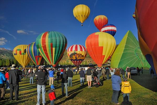 Aspen Snowmass热气球节(The Snowmass Balloon Festival)通常在每年九月举办。
