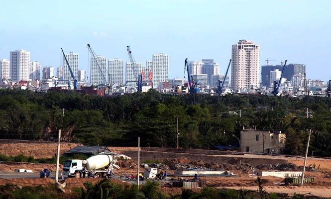 """胡志明市第二区是土地价格被""""吹""""高于现实的地区"""