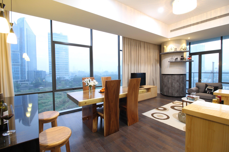 雅加达市中心的豪华公寓