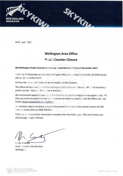 新西兰移民局签证递交方式重大变更 | 新西兰