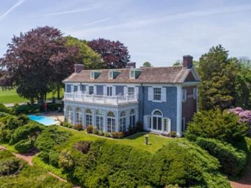 新罕布什尔海岸首屈一指的庄园式豪宅,独享私密幽静坐拥无敌海景   美国