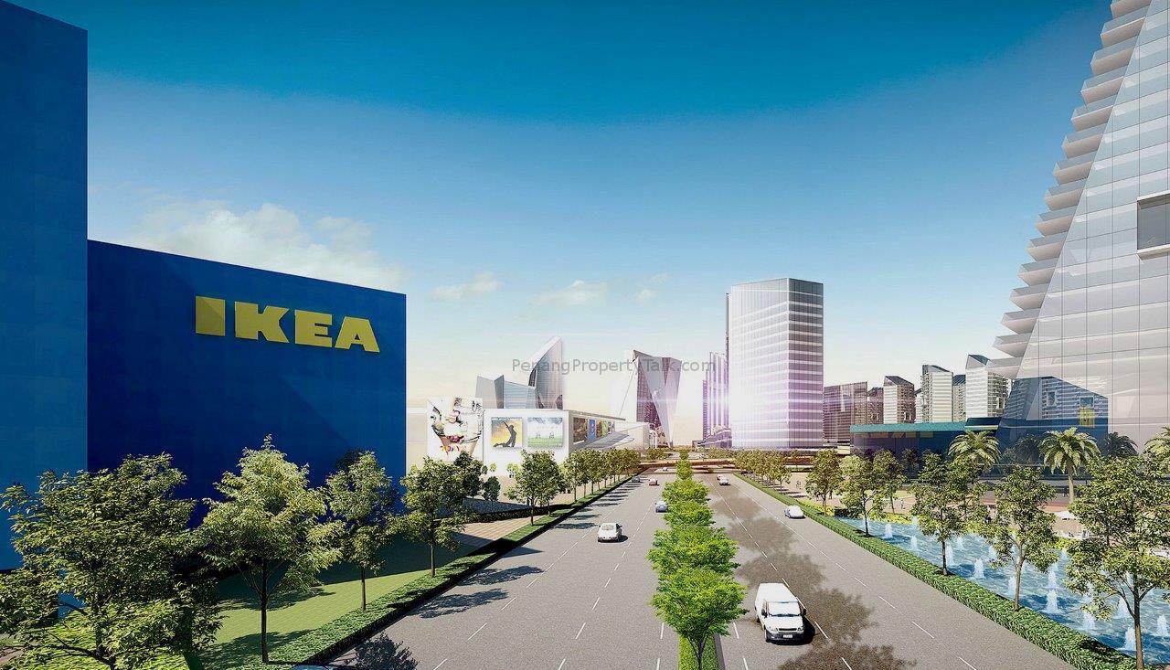 新型卫星城——Aspen愿景城市(Aspen Vision City)造价高达00亿令吉,是一项商业与住宅区综合性发展项目