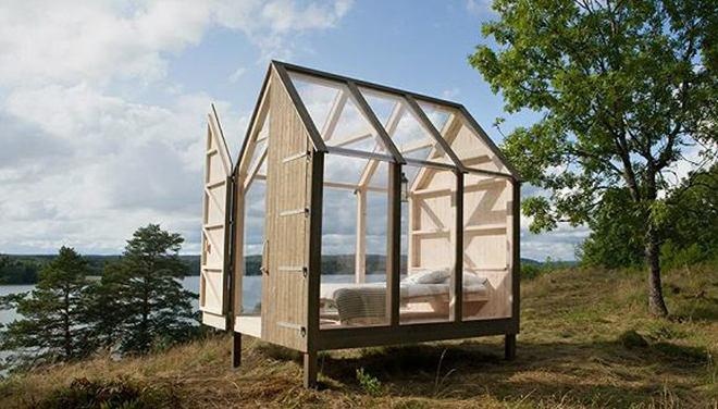 瑞典旅游局在小岛上造了