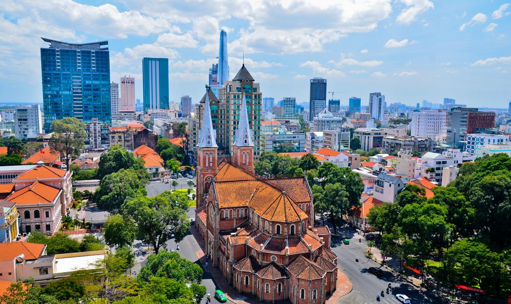 越南目前的租金回报率有吸引力,胡志明市平均年租金回报率可以达到6%-7%左右
