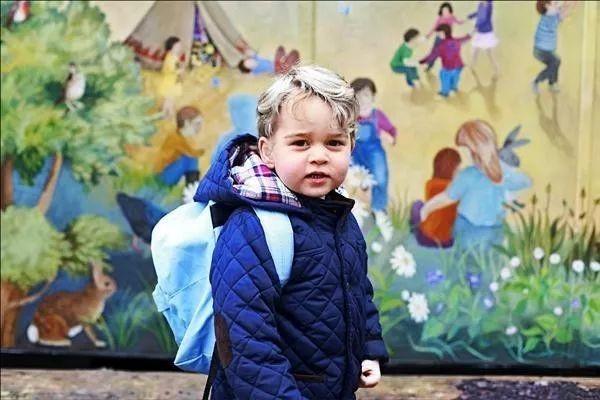 乔治小王子今年9月入读巴特西的Thomas's Battersea小学