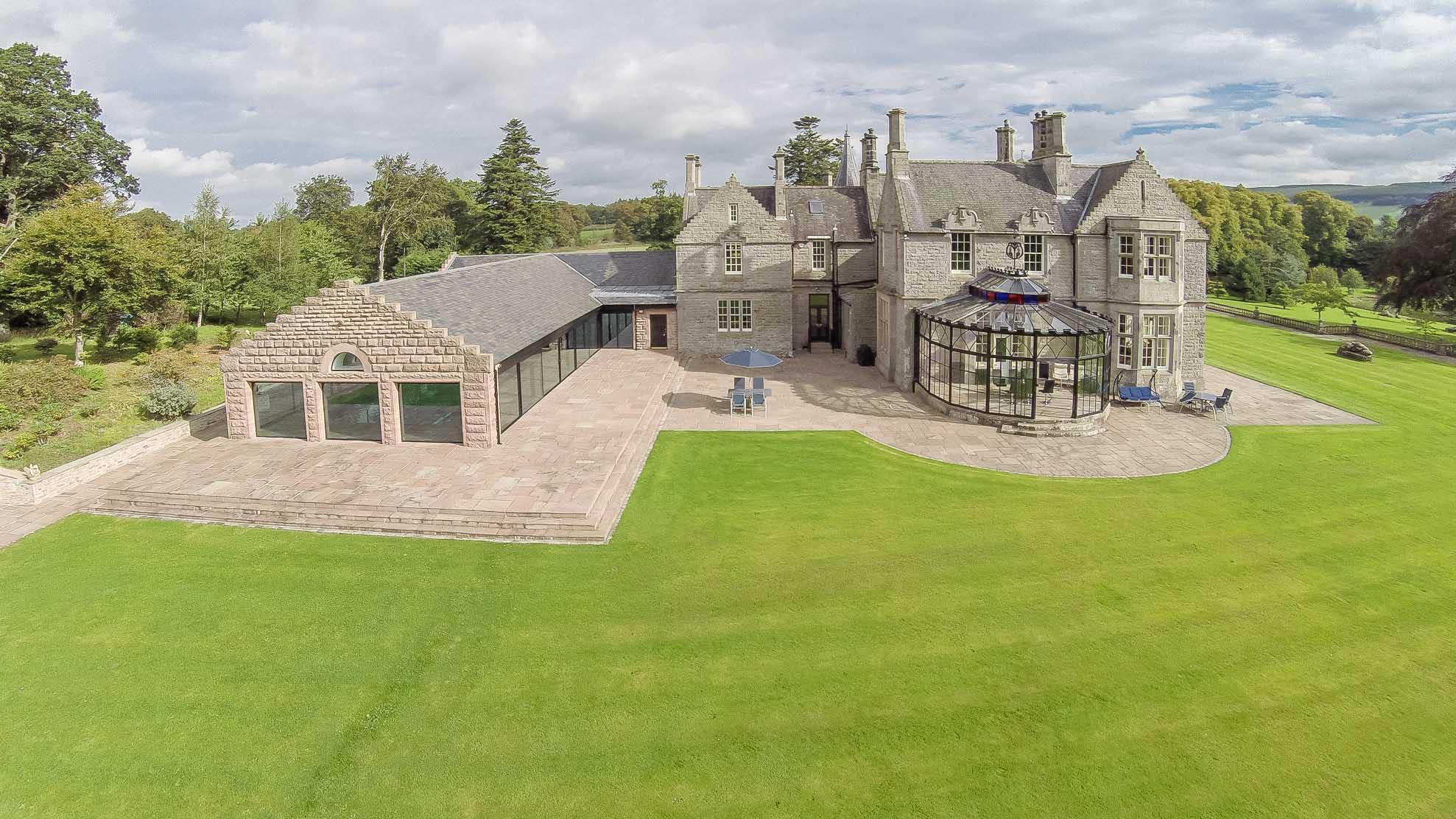 苏格兰比加宏伟乡村豪宅现正出售