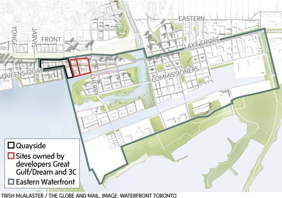 码头开发将成为东部海滨更庞大的750英亩土地重建的第一步