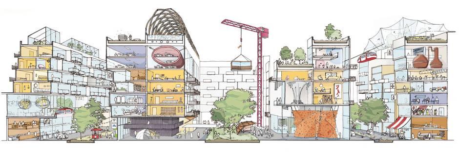 码头区建筑物兴建和分拆的方式将被重新设计