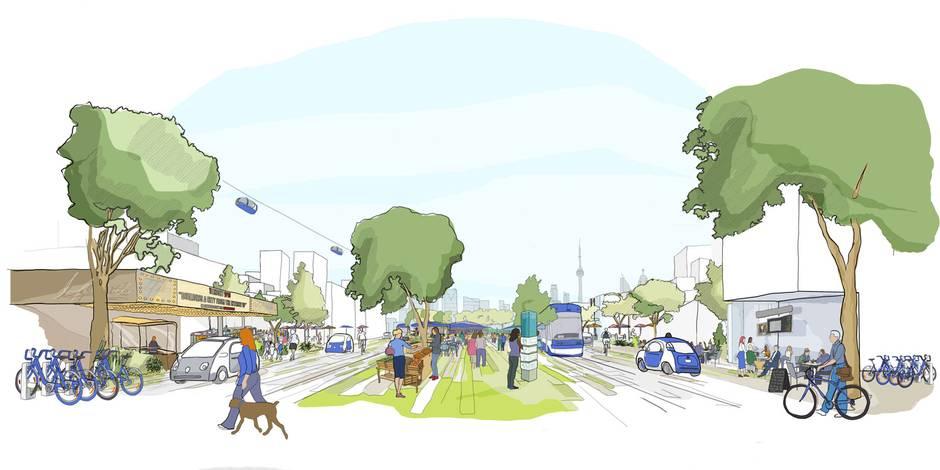 街道将会是行人优先,私家车禁止在该地区行驶