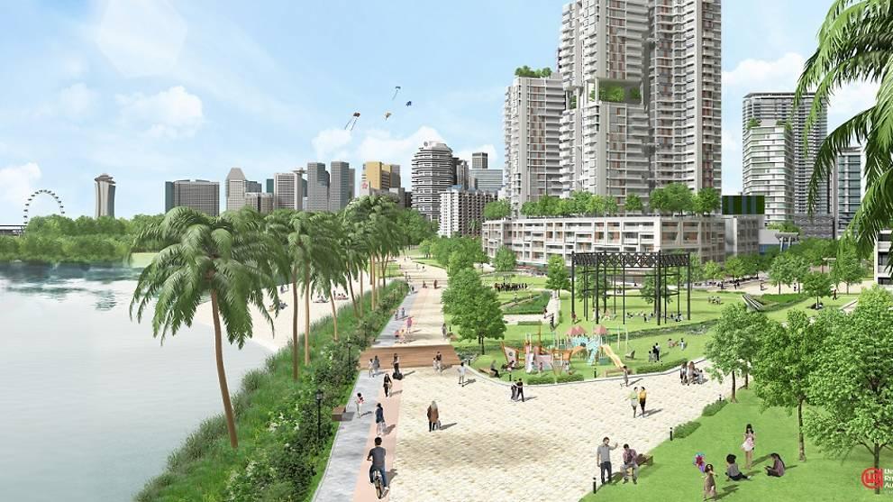 新发展住宅区是围绕着减少用车,具包容性和绿色未来的愿景而设计