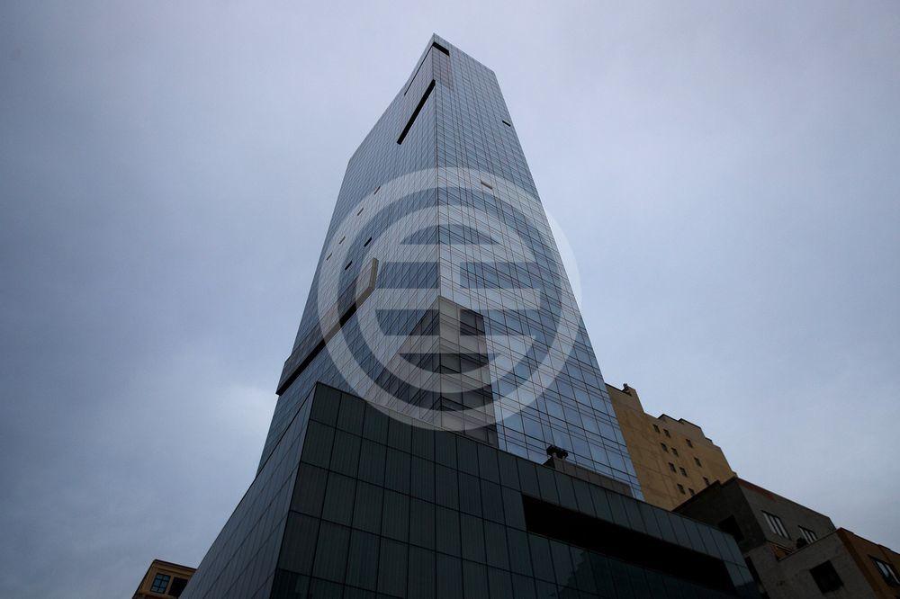 纽约特朗普SoHo酒店公寓的大楼外观