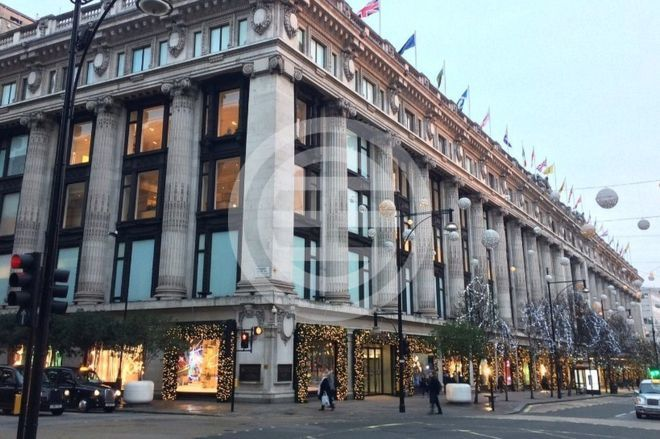 2016年圣诞彩灯——牛津街上的塞尔弗里奇百货公司