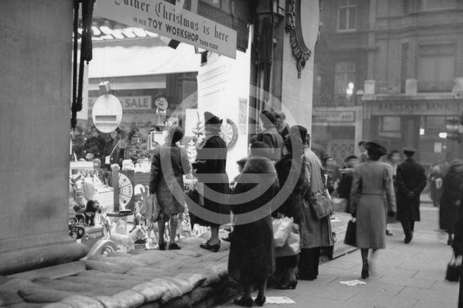 1939年圣诞节——牛津街