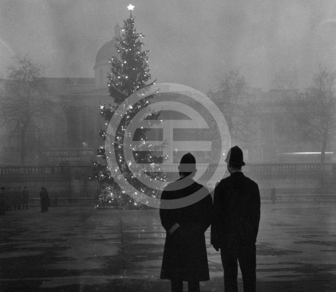 1948年圣诞节——伦敦特拉法加广场