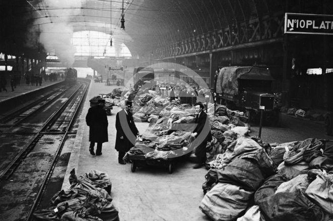 1922年——伦敦帕丁敦火车站