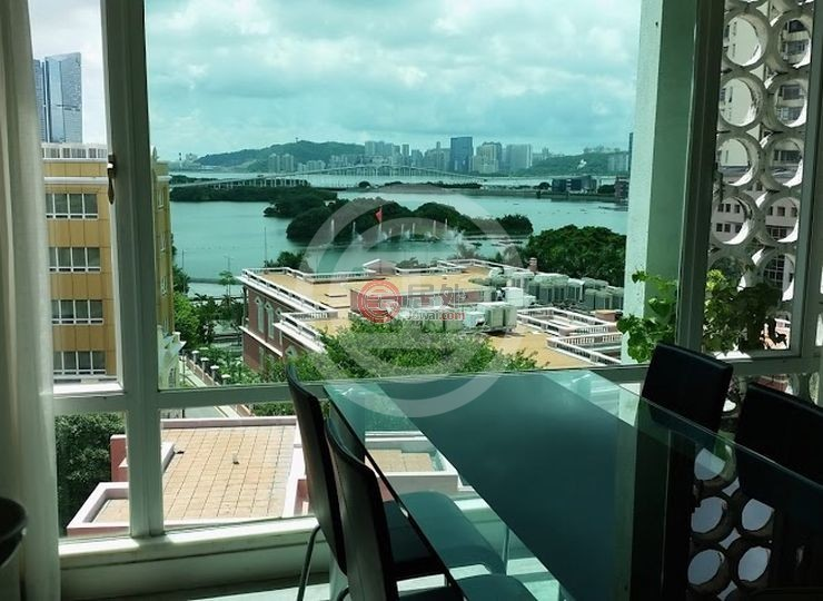 在居外网出售的中国澳门2卧1卫海景房产(点击图片查看房源信息)