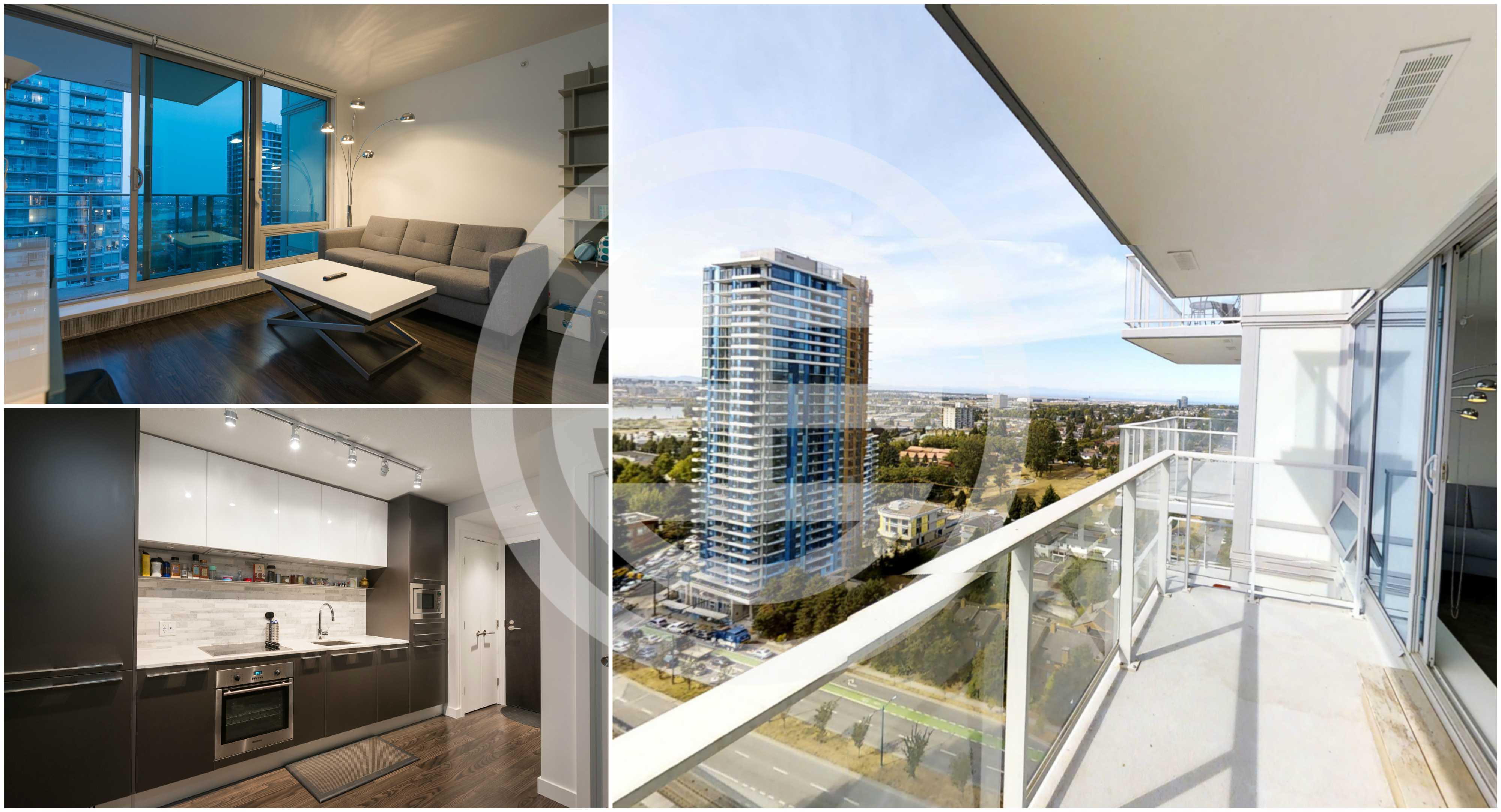 加拿大房贷新政正式生效,预计公寓将面临更大的需求量。图为居外网上出售的温哥华1卧1卫全新公寓,带高端装修