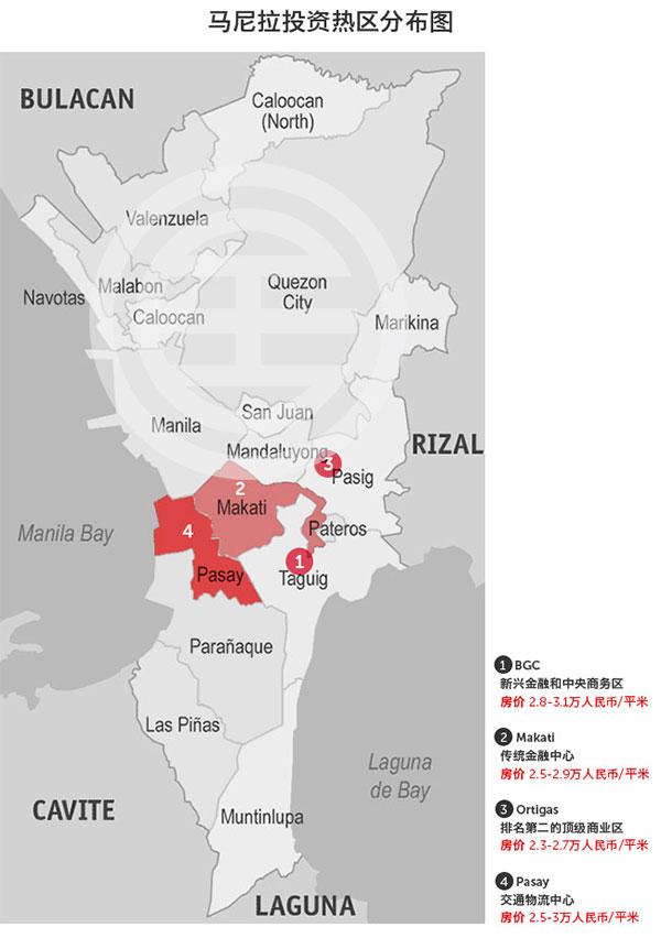 菲律宾房产投资热区