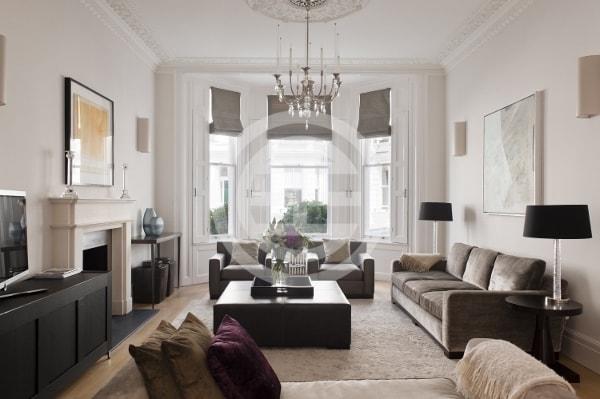 伦敦肯辛顿5卧4卫经过翻新的豪宅,肯辛顿花园和海德公园仅几步之遥。物业编号:31028330(点击图片查看房源信息)