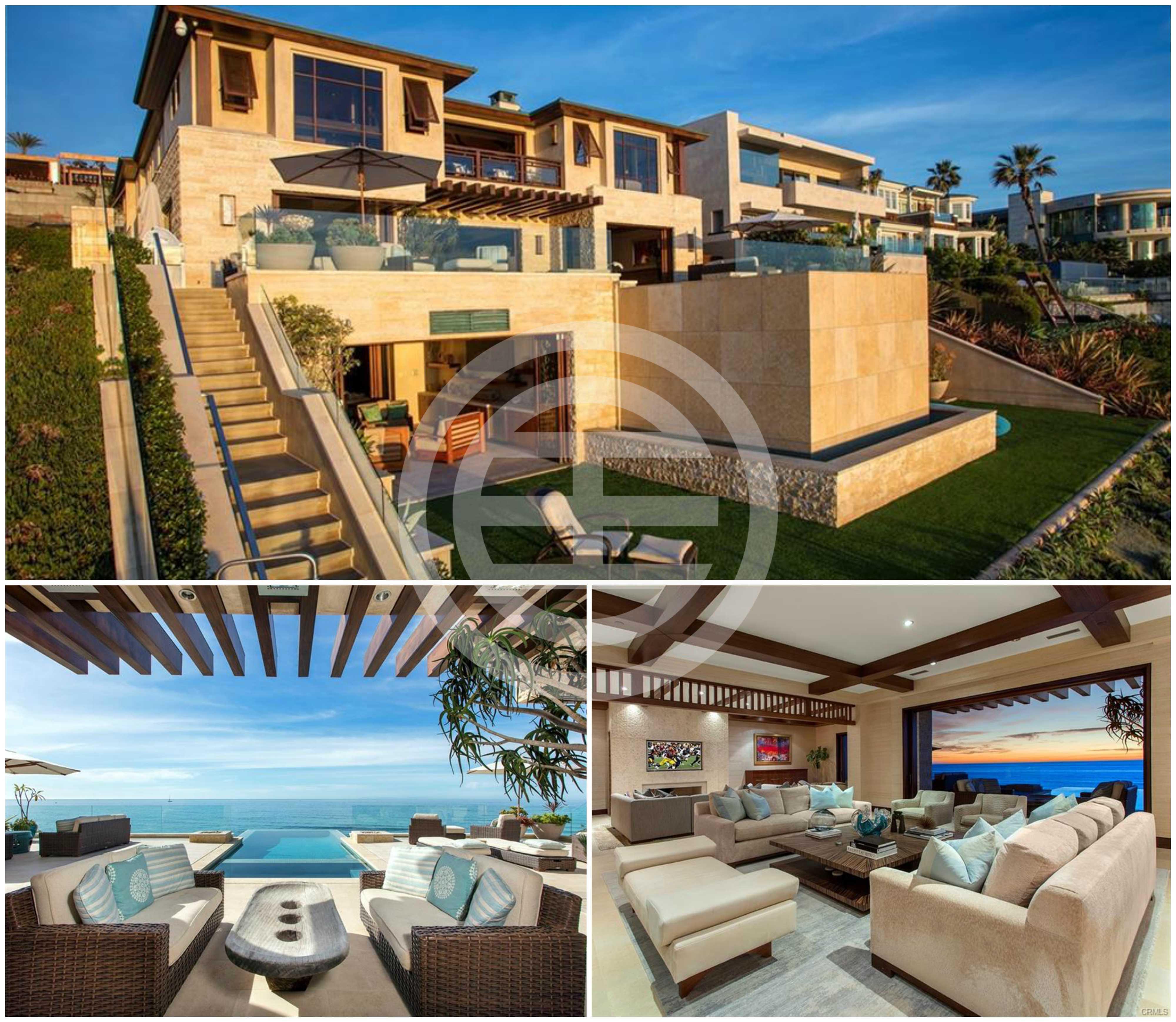 兰登湾地产在居外网上挂牌的一套加州橙县5卧6卫豪宅(点击图片查看房源信息)