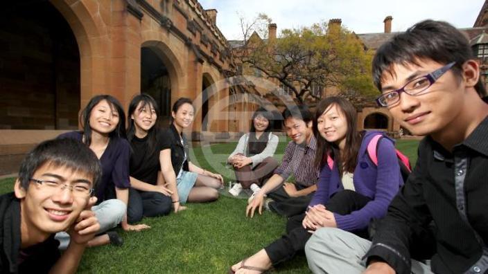 数据显示,中国在澳留学生的人数已比4年前增加了54%