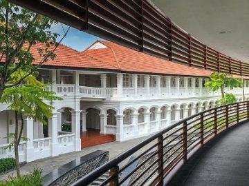 """【图集】""""特金会""""举办地:揭秘新加坡嘉佩乐酒店"""