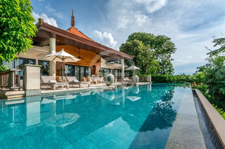 普吉岛豪华别墅安达曼海最璀璨的别墅明珠石材护理灯具公司图片