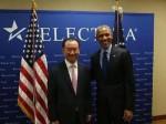 王健林参加2015美国投资峰会  为何受奥巴马总统亲自会见?